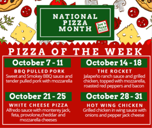 Celebrate National Pizza Month all October at Joe's Pizza Buy the Slice  @ Joe's Buy The Slice | Kansas City | Missouri | United States