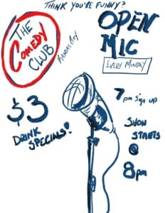 Open Mic Night @ The Comedy Club of Kansas City | Kansas City | Missouri | United States