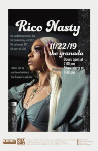 Rico Nasty @ The Granada   Lawrence   Kansas   United States