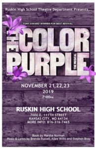 The Color Purple The Musical @ Ruskin High School Auditorium | Kansas City | Missouri | United States
