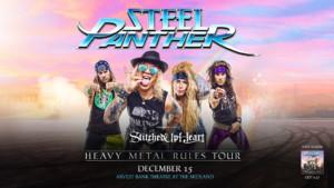 Steel Panther @ Arvest Bank Theatre at The Midland | Kansas City | Missouri | United States