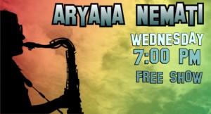 Aryana Nemati - Sax Trax @ Davey's Uptown Ramblers Club | Kansas City | Missouri | United States
