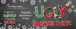 Holiday Open House: Ugly Sweater Party @ The Whole Person | Kansas City | Missouri | United States