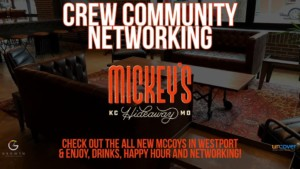 Crew Community Networking at Mickey's Hideaway @ Mickey's Hideaway | Kansas City | Missouri | United States