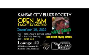 Kansas City Blues Society December JAM and Meeting @ Lounge 42 | Kansas City | Kansas | United States