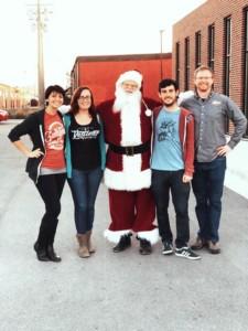 Whiskey & Waffles with Santa @ Restless Spirits Distilling | North Kansas City | Missouri | United States