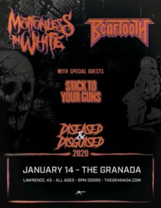 Motionless In White & Beartooth @ Granada | Lawrence | Kansas | United States