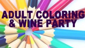 Free Adult Coloring & Wine Party @ KC Wine Co   Olathe   Kansas   United States