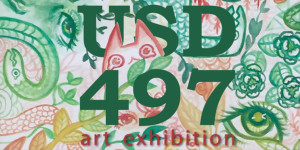 USD 497 Annual Art Exhibition @ Lawrence Arts Center | Lawrence | Kansas | United States