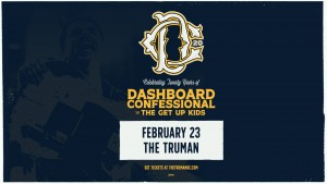 Dashboard Confessional @ The Truman | Kansas City | Missouri | United States