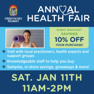 GreenAcres Market Annual Health Fair @ GreenAcres Market | Wichita | Kansas | United States