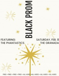 Black Prom with The Phantastics! @ The Granada | Lawrence | Kansas | United States