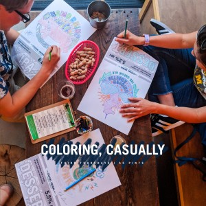 Coloring, Casually @ Casual Animal Brewing Company | Kansas City | Missouri | United States