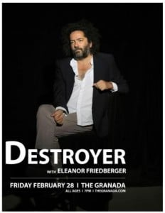 Destroyer @ The Granada | Lawrence | Kansas | United States