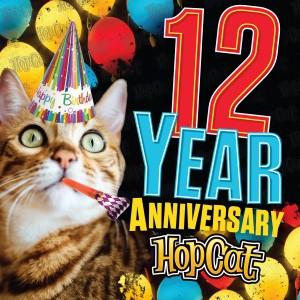 HopCat 12th Anniversary Party and Cosmik Fries Eating Contest @ HopCat | Kansas City | Missouri | United States