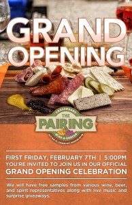 The Pairing Grand Opening @ The Pairing: Crossroads Wine & Grocer | Kansas City | Missouri | United States