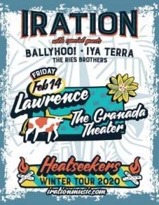 Iration @ The Granada   Lawrence   Kansas   United States