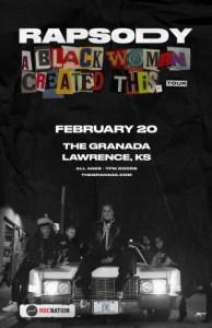 Rapsody @ The Granada | Lawrence | Kansas | United States
