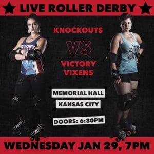 KC Roller Warriors: Victory Vixens vs Knockouts @ Memorial Hall | Kansas City | Kansas | United States