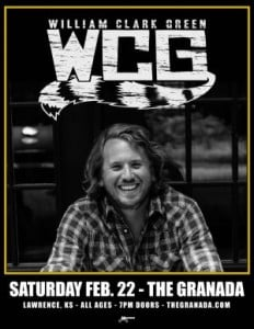 William Clark Green @ The Granada | Lawrence | Kansas | United States