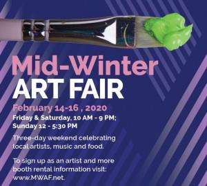Ward Parkway Center Mid-Winter Art Fair @ Ward Parkway Center | Kansas City | Missouri | United States