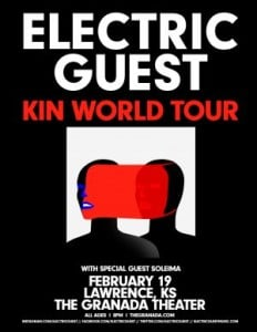 Electric Guest @ The Granada | Lawrence | Kansas | United States