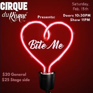 Cirque Du Risque: Love Bites @ The Comedy Club of Kansas City | Kansas City | Missouri | United States