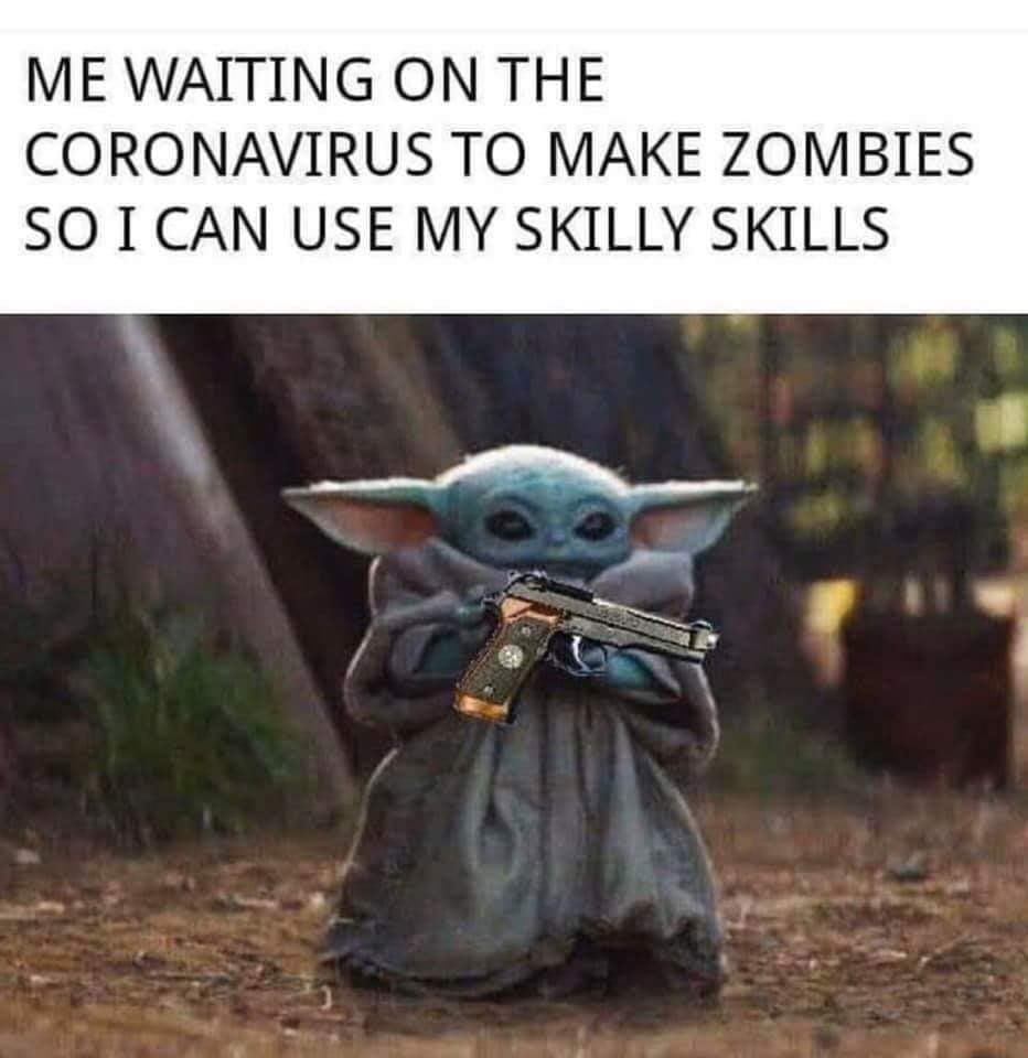 With Force Powers, Baby Yoda Would Be Clutch In The Apocalypse