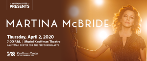 Martina McBride @ Kauffman for the Performing Arts | Kansas City | Missouri | United States