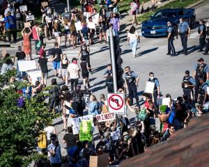 Plaza Police Protest 05 29 20 3644