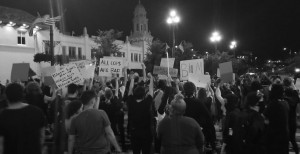 Terra Plaza Protest