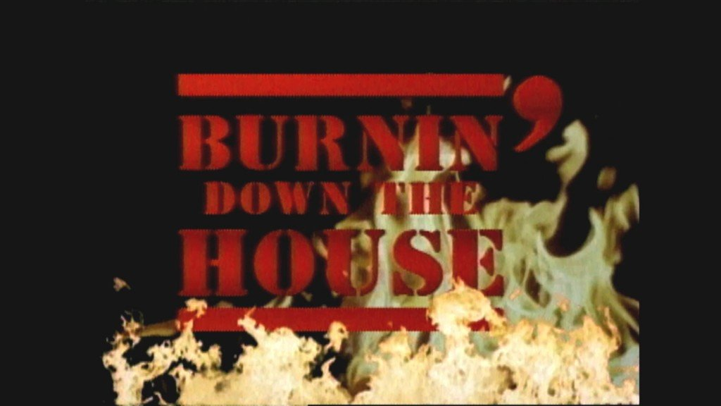 Burnin Down The House Logo