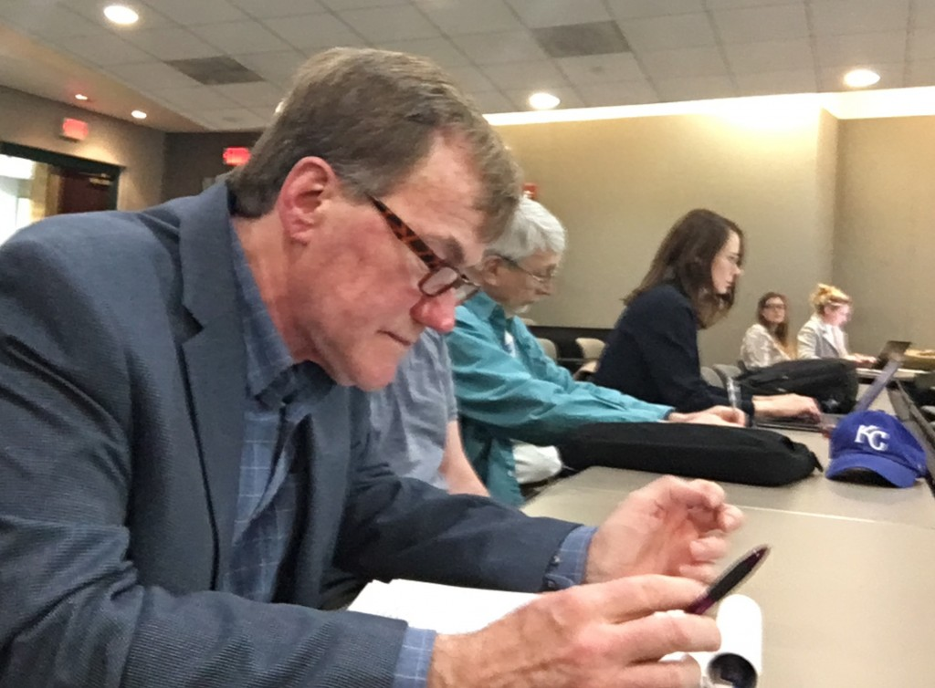 Don Wallace Public Participates In Discussion About Kcmo Building Codes At Kcmo Environmental Management Commission Meeting In March 2020
