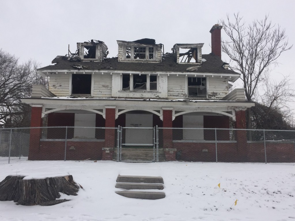 Satchel Paige's House After Fire 2.20.19 Traci Angel