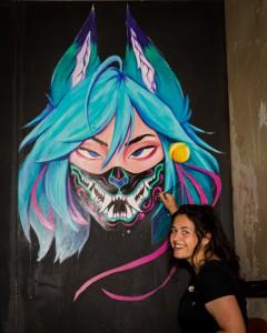 Graffiti Attic Opening 8471