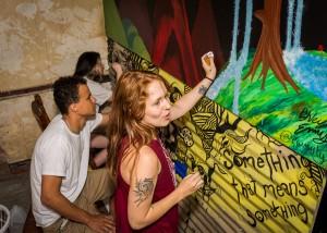 Graffiti Attic Opening 8474