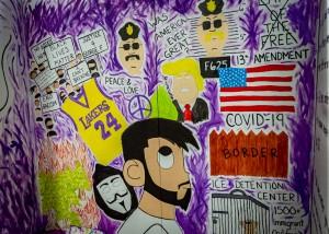 Graffiti Attic Opening 8569