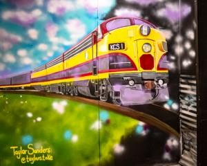 Graffiti Attic Opening 8573