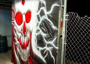 Graffiti Attic Opening 8581