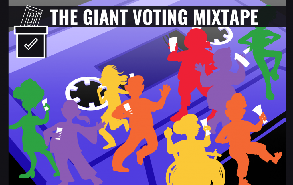 Voting Mixtape Art By Jade Gordon