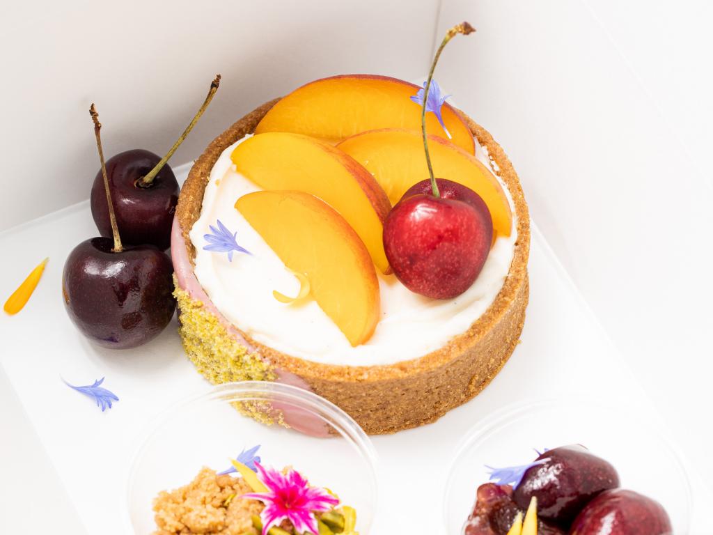1900 Cheesecake Tart Photo By Zach Bauman