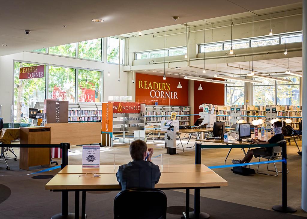 Kansas City Public Library Plaza 8715