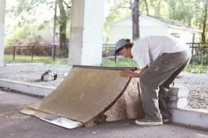 Keelin Doing Field Repair