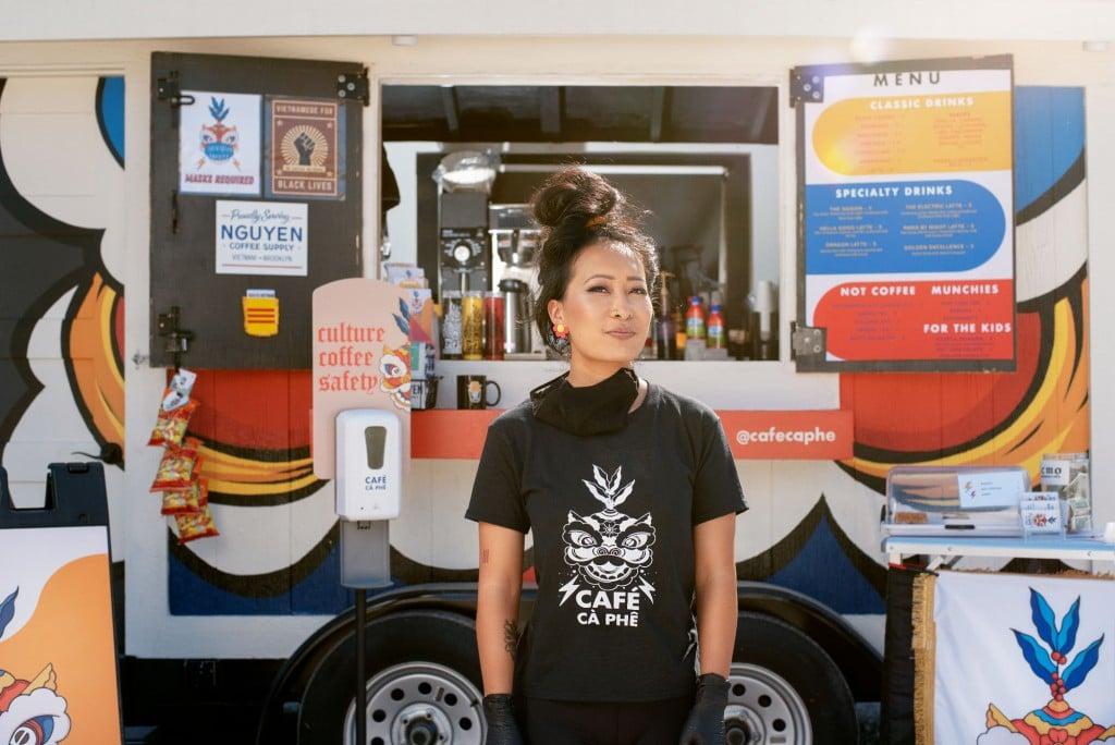 Jackie Nguyen Of Cà Phê // Photo By Travis Young