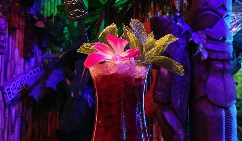 A photo of a cocktail from Condors Cove