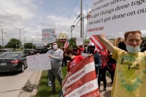 May 19 2021 Fight For 15 Workers Strike And Hold Rallies At Kc Mcdonald S And Lee S Summit Wendy S 15