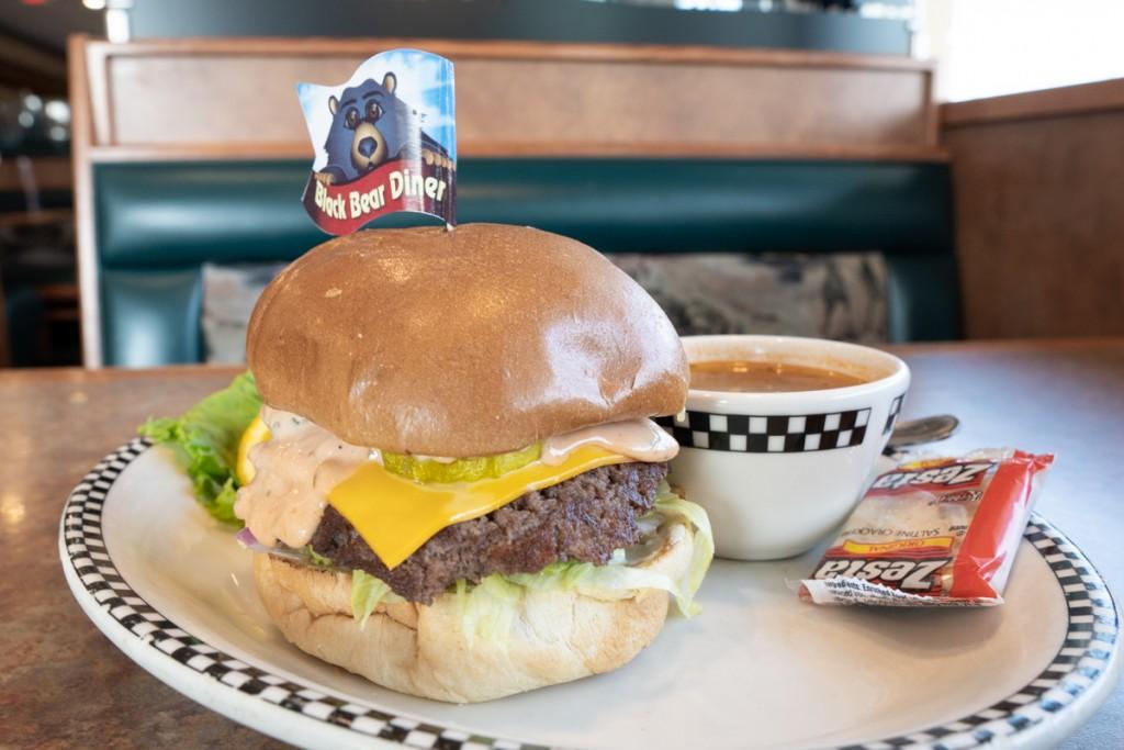 Black Bear Diner Shastacheeseburger