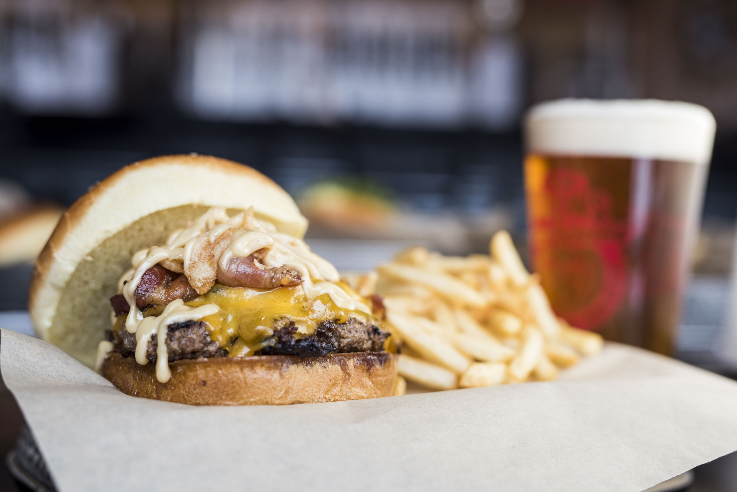 Mr Brews Taphouse Burger 2021