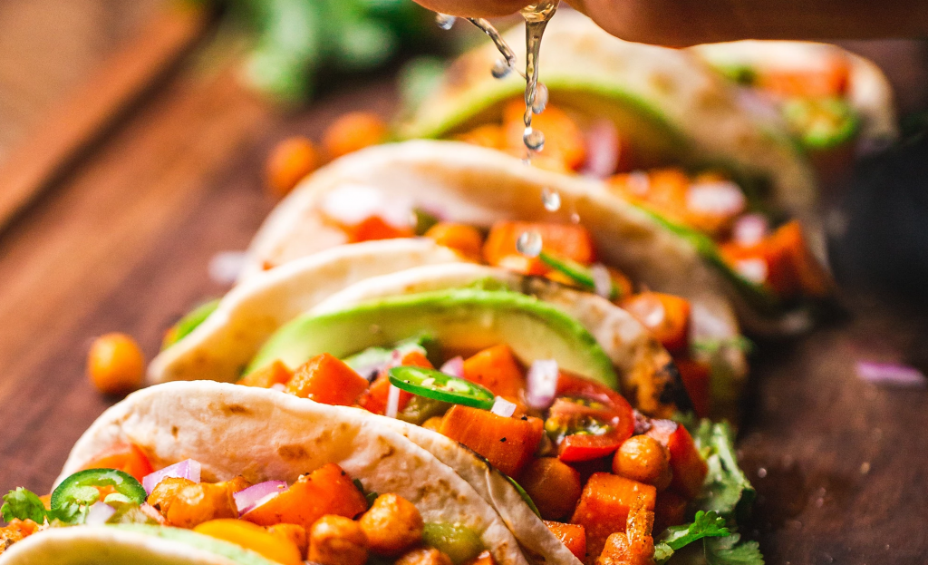 A photo of tacos from Taste Island Grill in Kansas City, Missouri