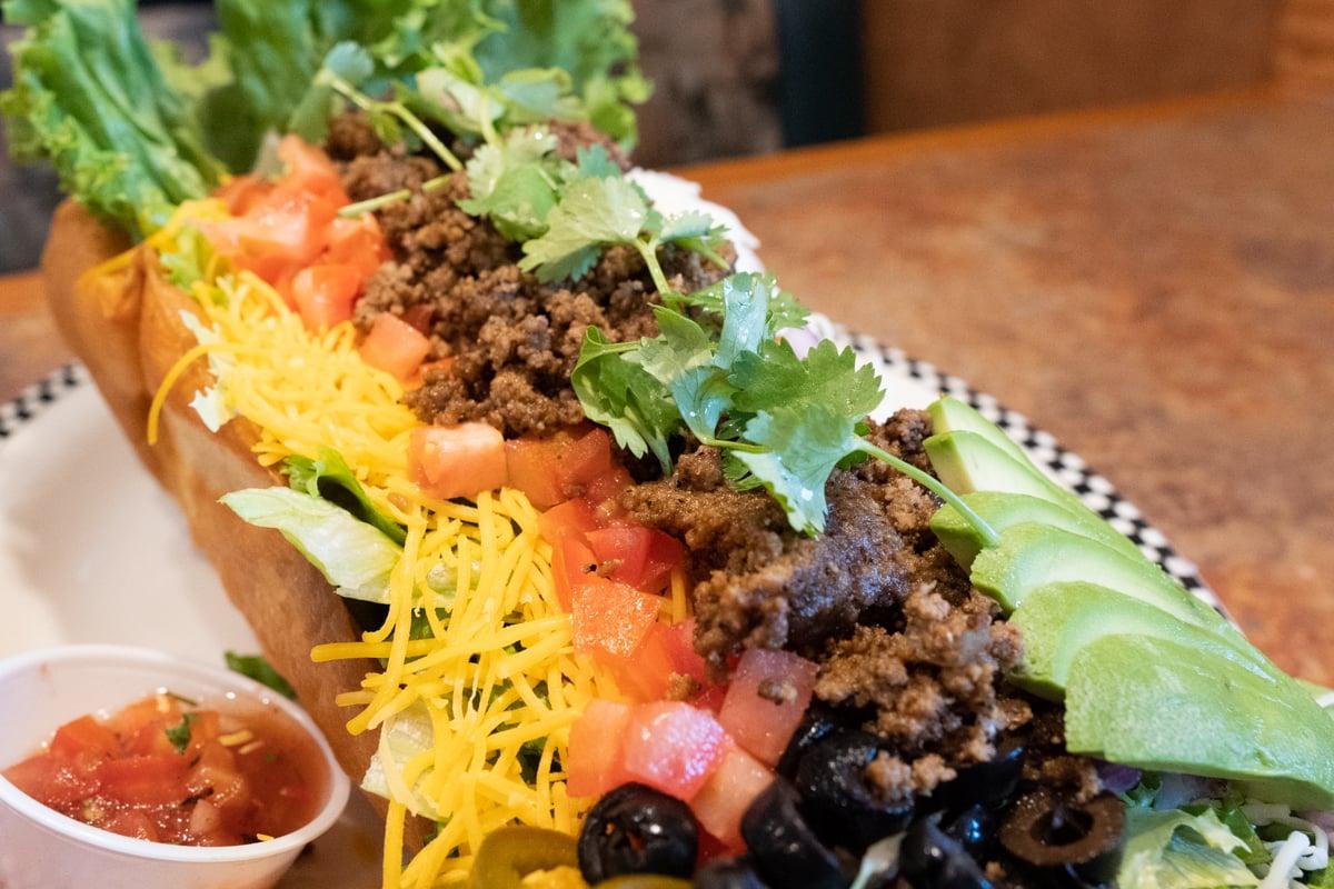 Black Bear Diner Taco Photo